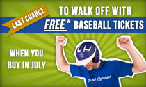 Last chance to walk off with free tickets!