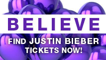 Justin Beiber Tickets - Believe