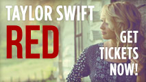 Taylor Swift - Red Tour Tickets